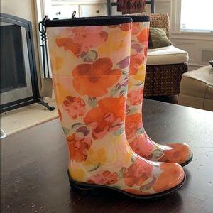 🌸🌺 Kamik rain boots size 6 🌺🌸